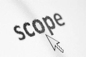 scope of openerp