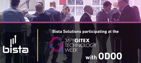 Visit Odoo and Bista Solutions at GITEX at Hall 7, stand D7-15 and learn how 2 million+ users are enjoying Odoo efficiently