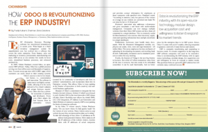 SiliconIndia Odoo Bista Solutions article