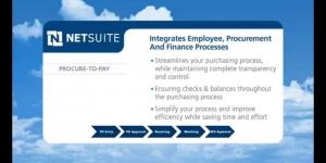 NetSuite Procurements – Procure to Pay