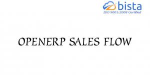Odoo OpenERP Sales Flow