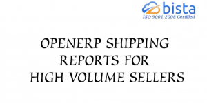 Odoo OpenERP Shipping Reports for High volume sellers