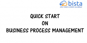 Quick start on Business Process Management