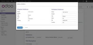 Configure Customer Address