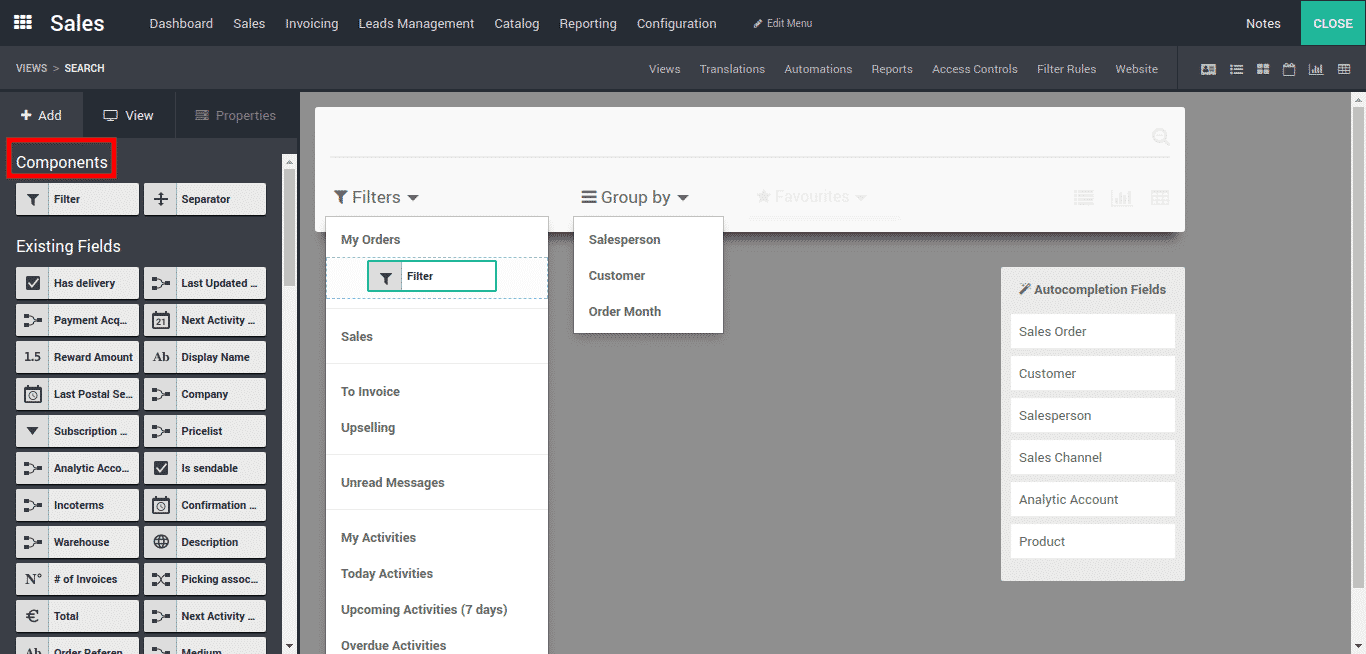 Invoice Bill Template Admin Author At Bista Solutions Best Odoo Implementation Company  Make My Own Invoice with Create Custom Invoices Using Simple Drag And Drop Facility A User Can Manage Search For That  Need To Drag Filter From The Components Part Also Use Existing  Fields  Invoice Template Download Free Word