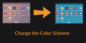 Odoo change color