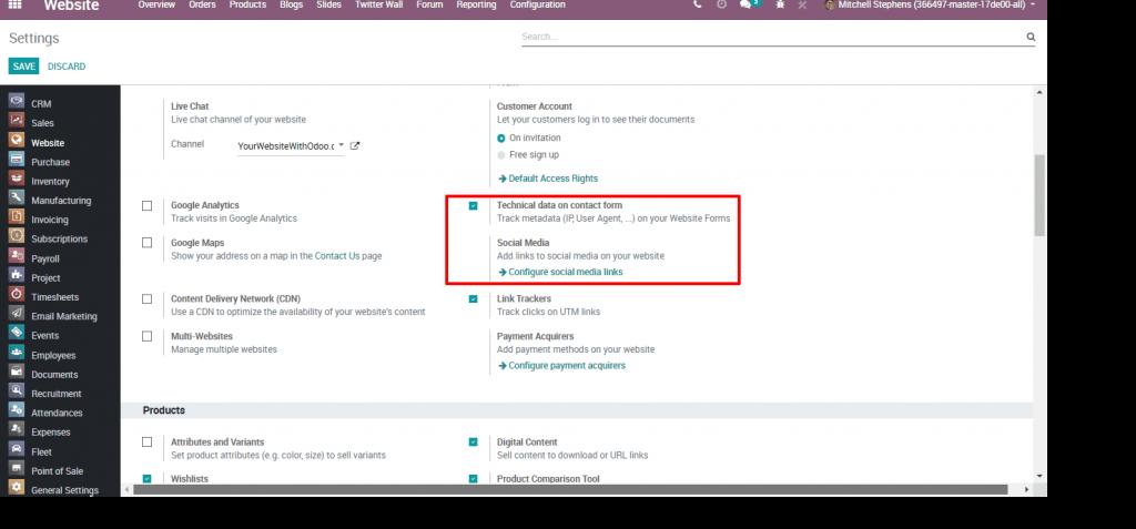 Odoo 12 022 - Website metadata user device