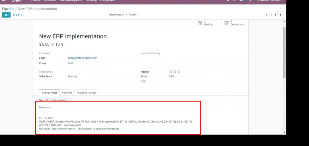 Odoo 12 023 - Website user device metadata