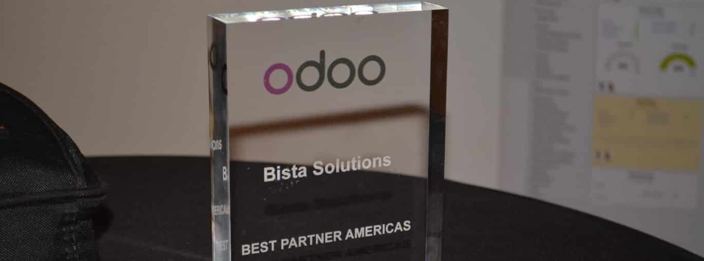 "Bista Solutions Nominated as Odoo ""Best Partner North America"" for 4th Consecutive Year"