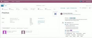Odoo 12 benefits 006 - customer creation