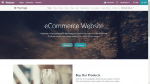 odoo ecommerce website module cover