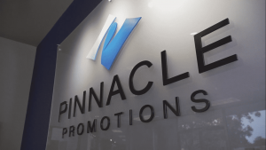 Pinnacle Promotions sign 1