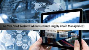 NetSuite supply chain management