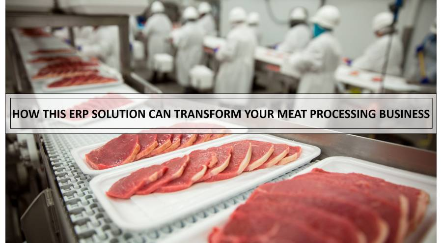 How Meat Processing ERP Solution Can Transform Your Meat Processing Business