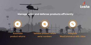 arms & defense erp