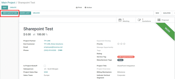 Odoo SharePoint Integration