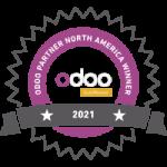 """Best Odoo Partner of the Year 2021 North America"" - WINNER"