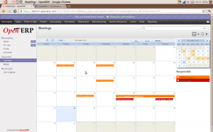 Calendar to check meetings