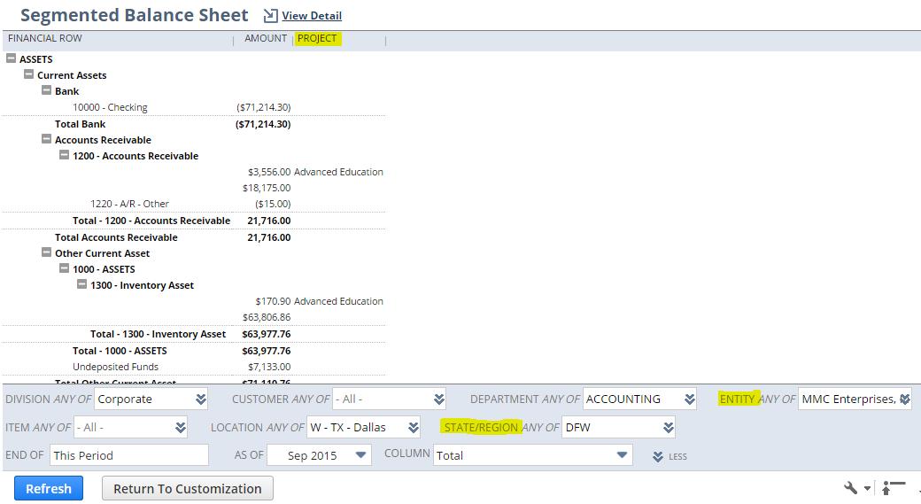 Segment-balance-sheet
